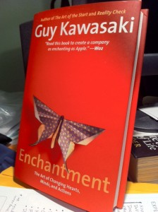 Enchantment book 224x300 How to Build Influence and Earn Trust via Enchantment: An Interview with Guy Kawasaki